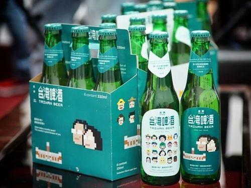 蔡英文氏総統就任記念の台湾ビール、数量限定で来月発売  初の試み