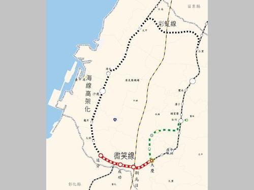 台中の鉄道環状線計画始動、2018年着工へ  経済・交通の発展目指す/台湾