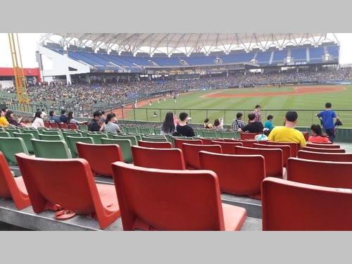 台中インターコンチネンタル球場=2016年4月撮影
