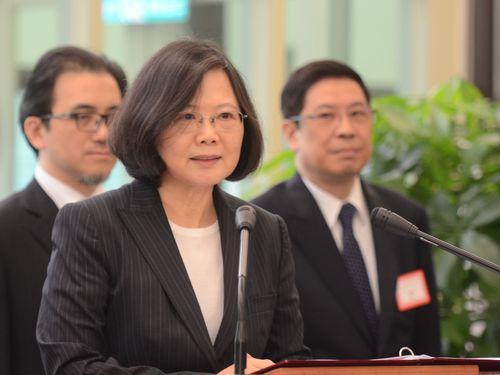 蔡総統、中米4カ国歴訪に出発  米国経由で  「国交強化が任務」/台湾