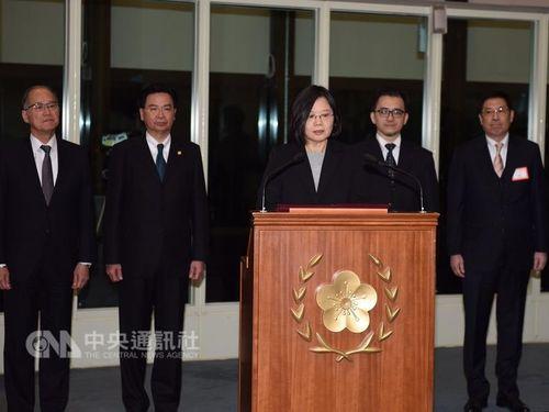 蔡英文総統、中米から帰国  「着実な外交・互恵互助」を改めて表明/台湾