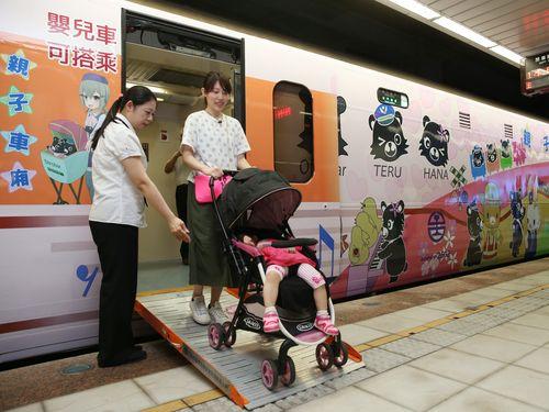 台湾鉄道に「親子車両」登場  熊のデザインで可愛らしく  7月末に試験導入