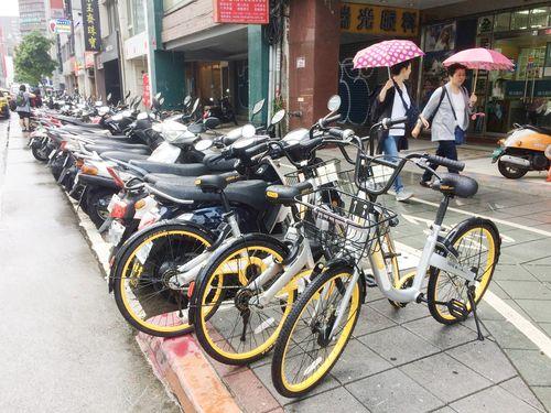 台湾各地に進出の「oBike」、迷惑駐輪多発  台北市が法整備へ/台湾