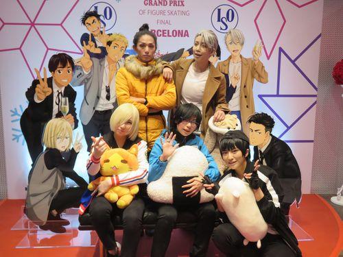 アニメ「ユーリ!!! on ICE」の展覧会、台湾で開幕  海外初開催