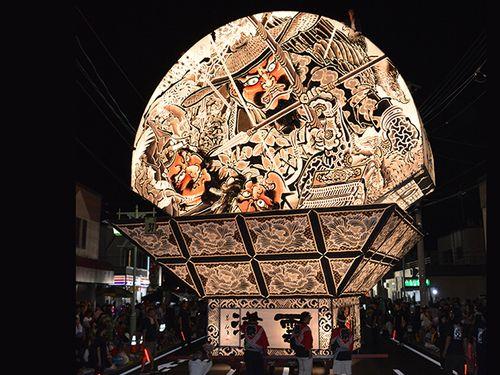 台中ランタンフェスティバル  青森県平川市がねぷたを初展示/台湾