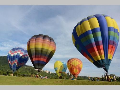 今年で3年目を迎える桃園の熱気球フェスティバル