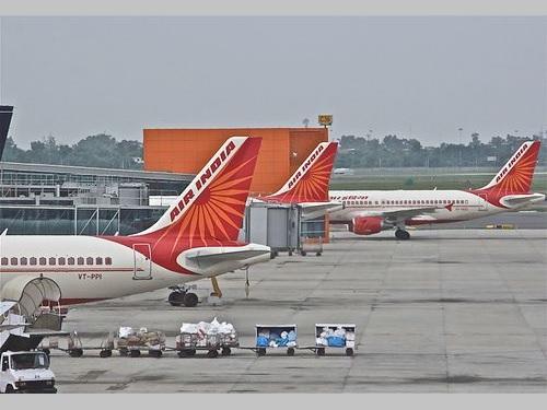エア・インディアの旅客機