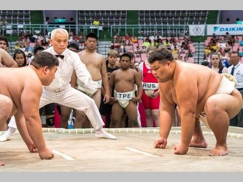 台湾・桃園開催の相撲世界選手権 団体で日本が優勝 | 芸能スポーツ ...
