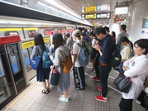 台北メトロの台北駅