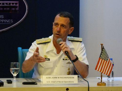 米海軍のリチャードソン作戦部長