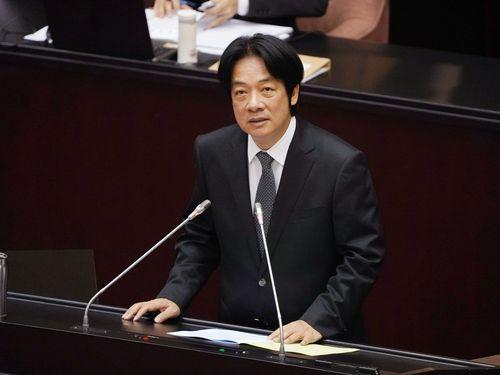 プユマ号脱線  頼行政院長「総点検」誓う  立法院で報告/台湾