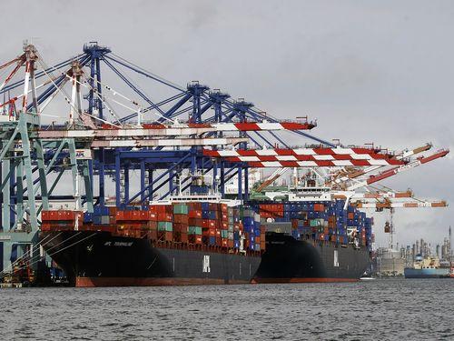 財政部によると、昨年通年の台湾の輸出額は過去最高となる36兆3600億円に
