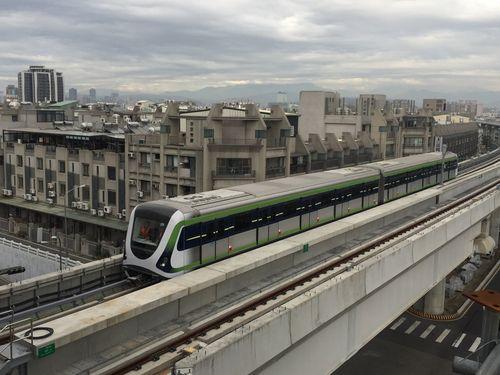 2020年末の開業を目指す台中メトロ(MRT)グリーンライン(台中市政府提供)
