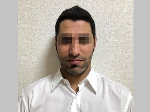 殺人容疑のイラク人の男=士林地検提供