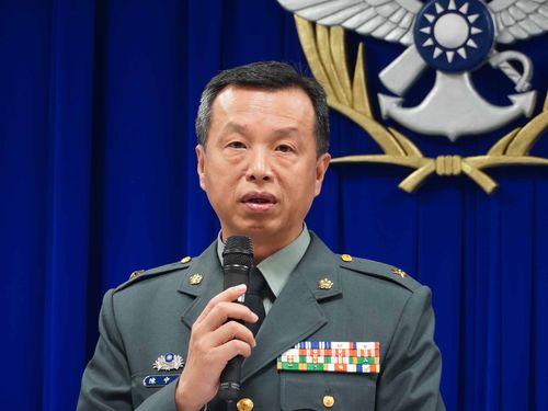 国防部の陳中吉報道官