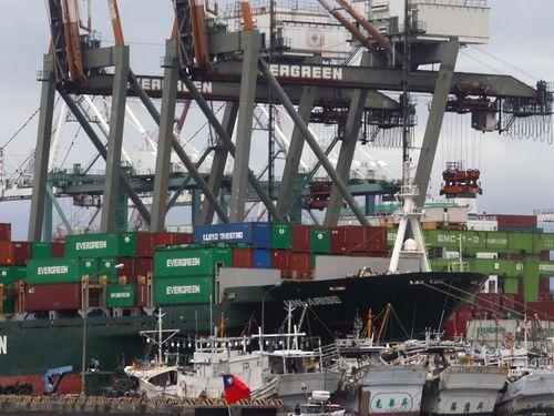 5月の台湾の輸出額は277億2000万米ドルで、7カ月連続でマイナスとなった=資料写真