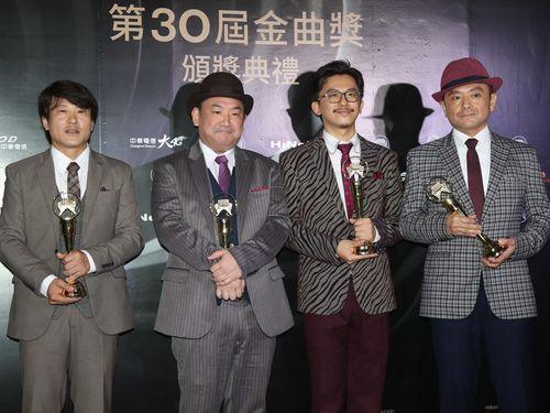 日本人バンド・東京中央線が演奏部門アルバム賞受賞  金曲奨/台湾