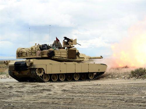 台湾が導入する米の戦車=米陸軍の公式サイトより
