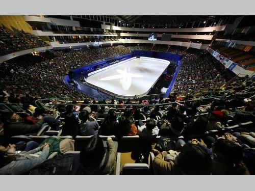 台北アリーナで昨年1月に行われたフィギュアスケートの四大陸選手権