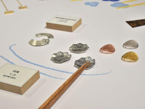 日台共同プロジェクトで生まれた箸置き