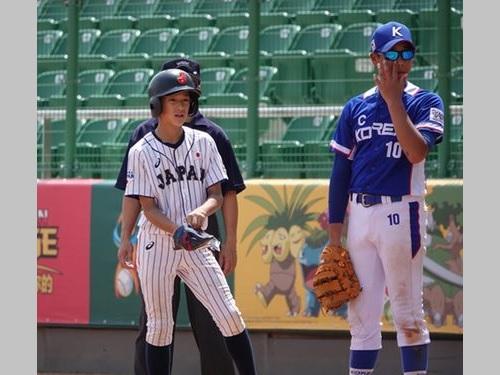 日本は韓国に8-7でサヨナラ勝ちした