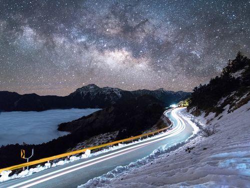 国際NPOから認定された台湾初の「星空保護区」--合歓山=南投県政府提供