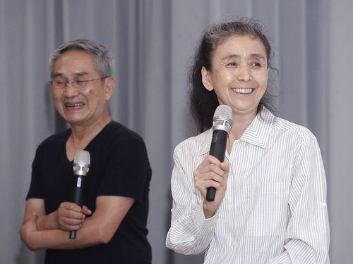 対談する尾竹永子氏(右)と林懐民氏