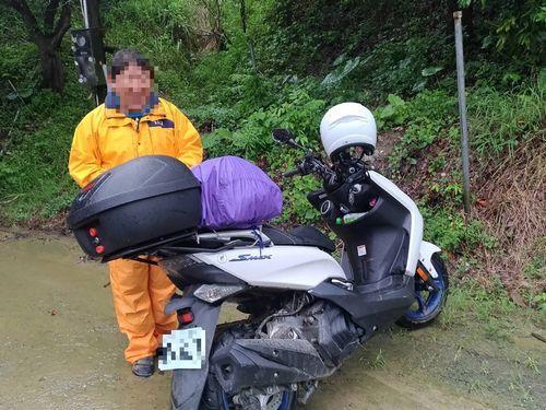 見回りの警察に救出された日本人男性