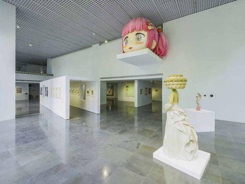 台北市の北師美術館で24日から始まった「美少女の美術史」展=同館提供