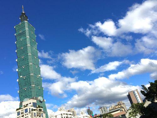台湾の超高層ビル「台北101」