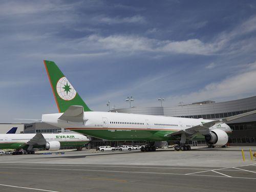 台風15号による関東地方接近のためエバー航空と中華航空の一部日本路線に影響が発生