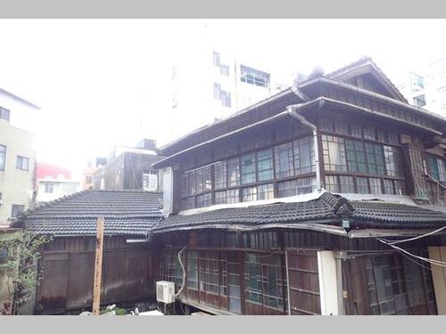 台南市の古跡に認定された住吉秀松の旧宅=同市文化資産管理処提供