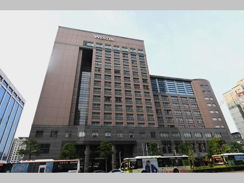 ウェスティン台北が入居していた建物=資料写真