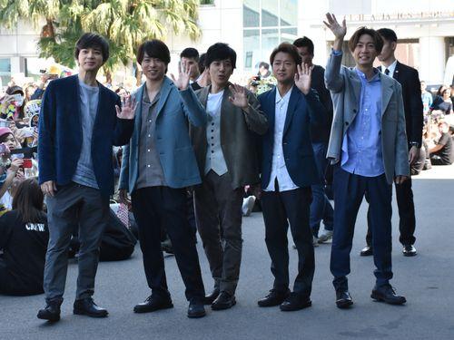 11年ぶりに台湾を訪問するアイドルグループの嵐