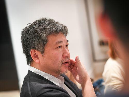 是枝裕和監督=台北金馬映画祭実行委員会提供