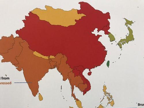 市民活動の自由度、台湾はアジアで唯一最高評価=人権団体調べ