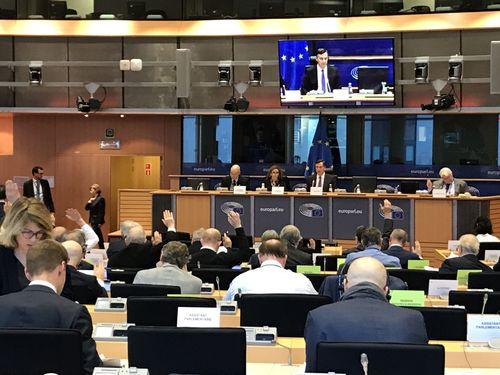 台湾支持の決議案を可決した4日の欧州議会外務委