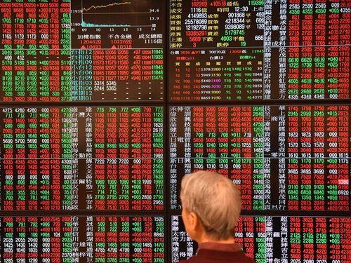 台湾株式市場、29年ぶり高値