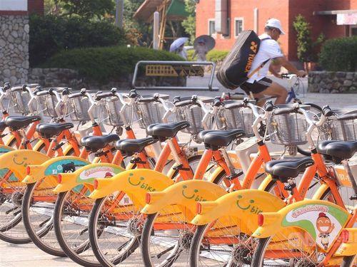 自転車シェアリングサービス「Youbike」
