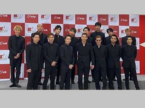 台湾の紅白出演で初訪台する EXILE
