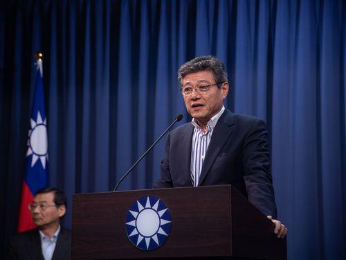国民党の党首代理、林栄徳氏