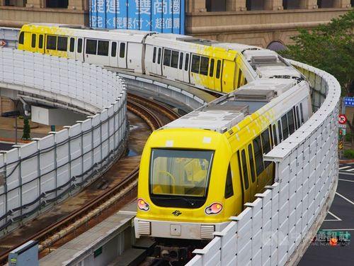 台北メトロ環状線第1期区間の車両