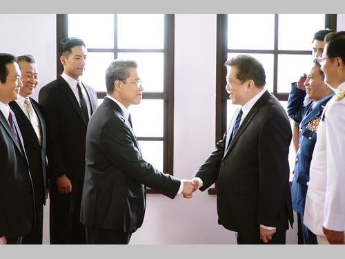 台湾初の本格政治ドラマ「国際橋牌社」の劇中写真=馬克吐温影像提供