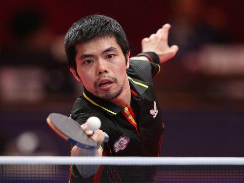 今大会で大活躍し、台湾の出場権獲得に貢献した荘智淵(38)。個人戦を含め5度目の五輪出場が確実視される=資料写真