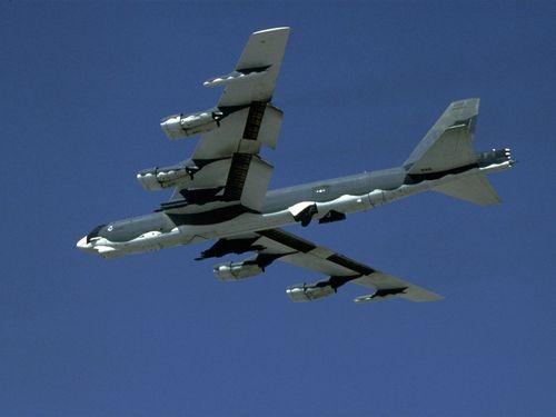 米空軍のB52戦略爆撃機=同軍のウェブサイトから