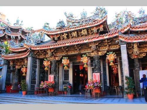 台湾の代表的な媽祖廟の一つ「鎮瀾宮」