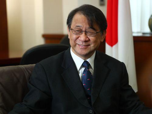日本台湾交流協会台北事務所の泉裕泰代表