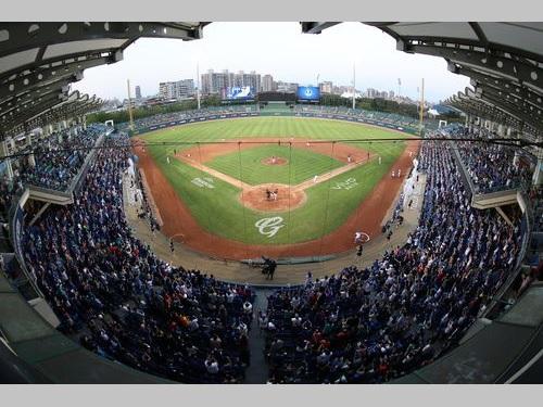 台湾プロ野球、開幕を4月11日に再延期=資料写真