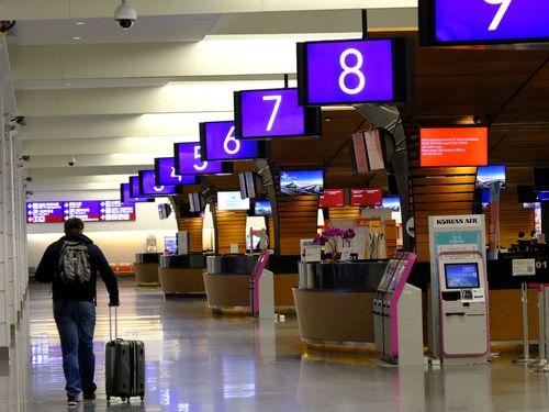 桃園空港の利用客急減、1日1万人切る