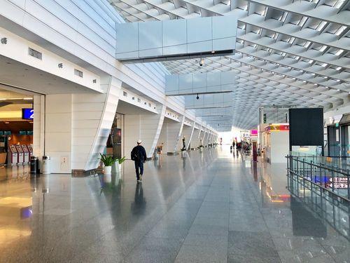 新型コロナウイルスの影響で利用者が大幅に減少している桃園空港